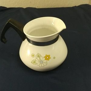 Vintage Corning Ware 3 Cup Teapot (No Top)